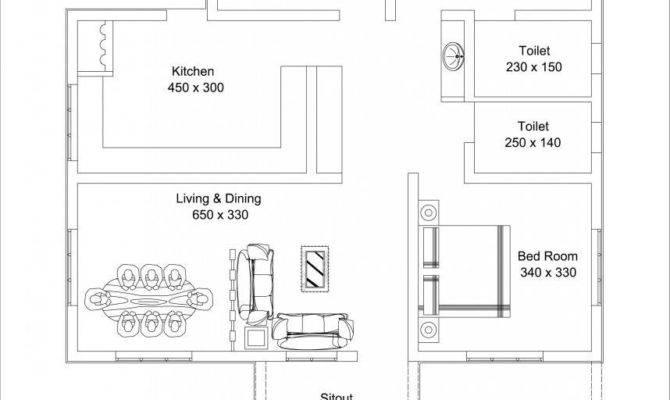 Beautiful Low Cost Bedroom Home Plan Sqft