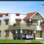 Beautiful Luxury Villa Elevation Kerala Home Design