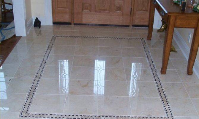 Beautiful Marble Floor Foyer