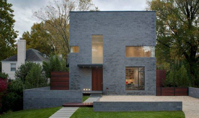 Beautiful Modern Concrete Block House Plans