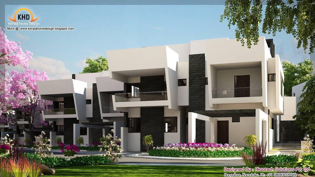 Beautiful Modern Contemporary Home Elevations Kerala