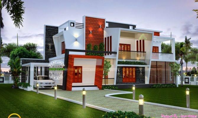 Beautiful Modern Contemporary Home Kerala Design