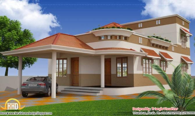 Beautiful Modern Traditional Kerala Home