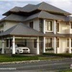 Beautiful Modern Traditional Mix Home Kerala