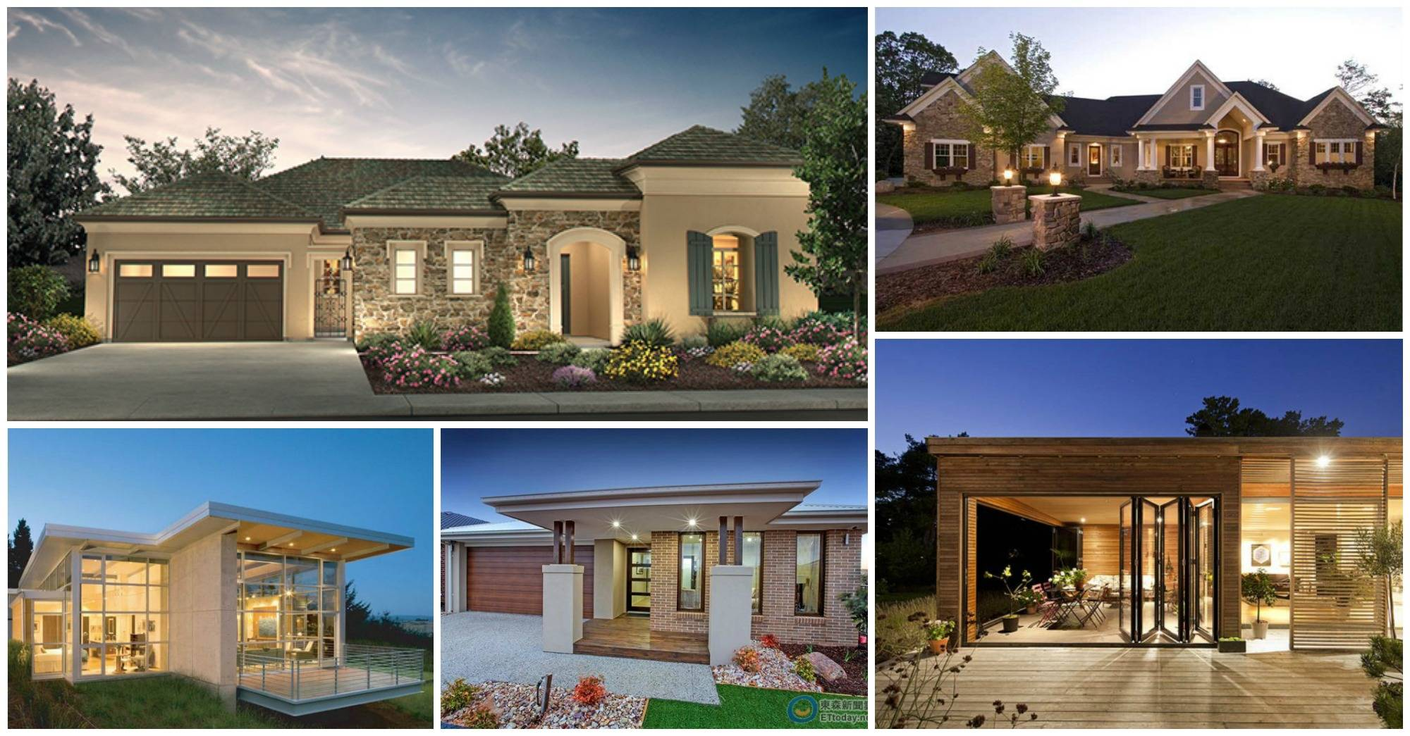 Beautiful One Story Houses Designs Love