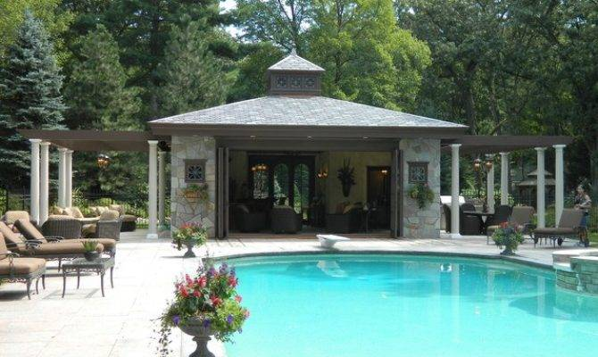 Beautiful Pool House Designs