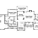 Beautiful Ranch Floor Plans Split Bedrooms Danutabois