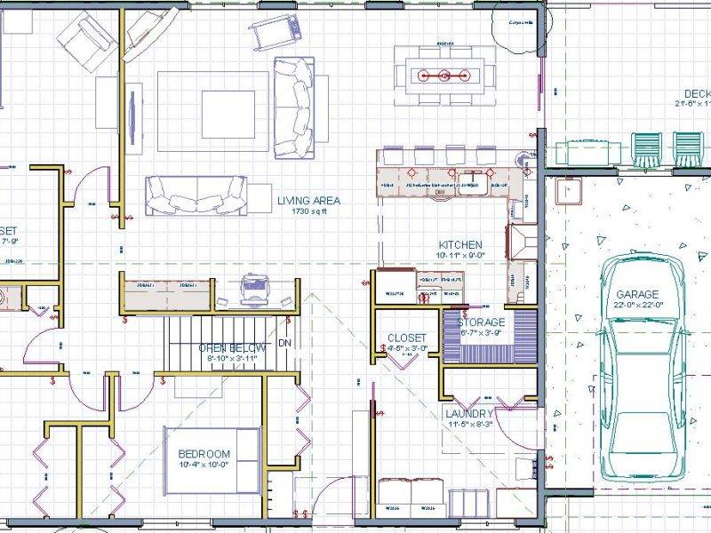 Beautiful Rectangular Ranch House Plans Danutabois