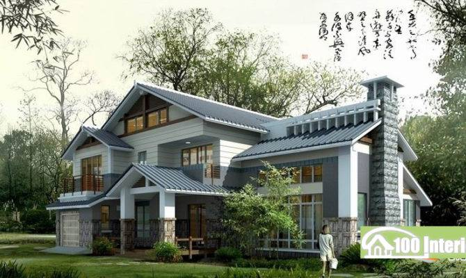 Beautiful Single Home Designs Photos Decoration
