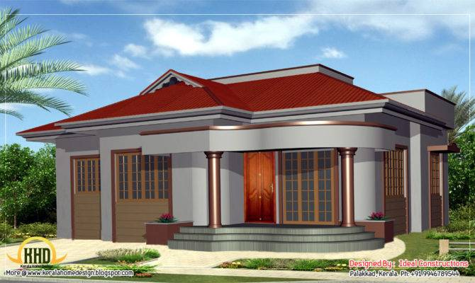 Beautiful Single Story Home Design Kerala