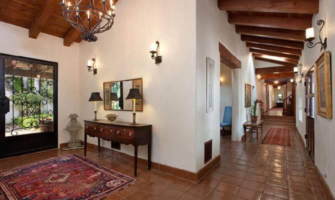 Beautiful Spanish Hacienda Santa Barbara Idesignarch Interior