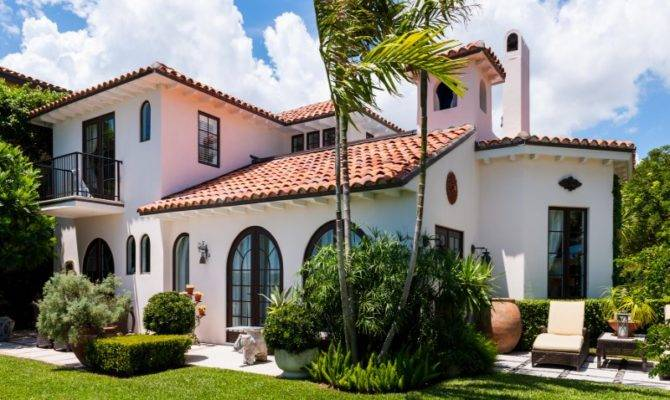 Beautiful Spanish Mission Style Home West Palm Beach Single