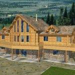 Beautiful Style Log Home Design Coast Mountain Homes