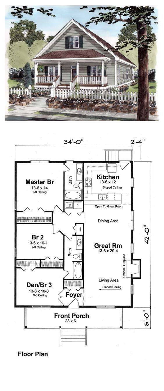 Beautiful Tiny House Floor Plans Book