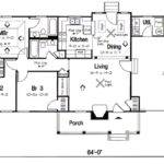 Beautiful Traditional Bungalow Floor Plans First