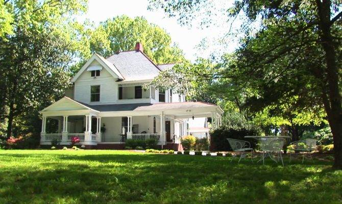 Beautiful Two Story Country Home Surrounded Trees