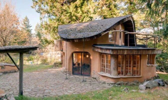 Beautiful Unique Cob Cottage Amazing House Design Ideas