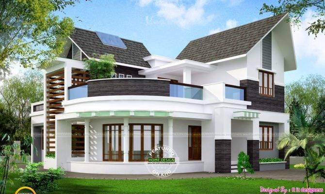 Beautiful Unique House Kerala Home Design Floor Plans