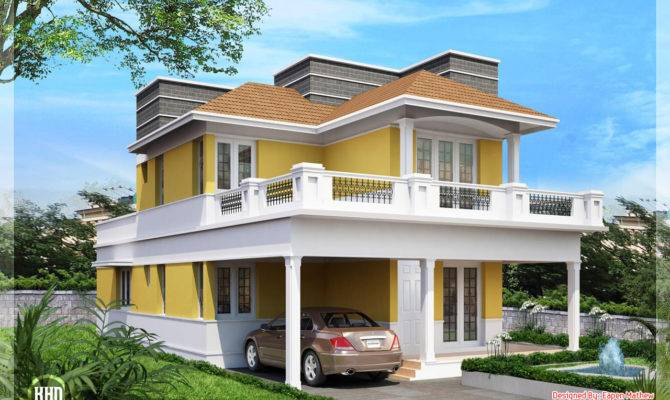 Beautiful Villa Elevations Kerala Home Design