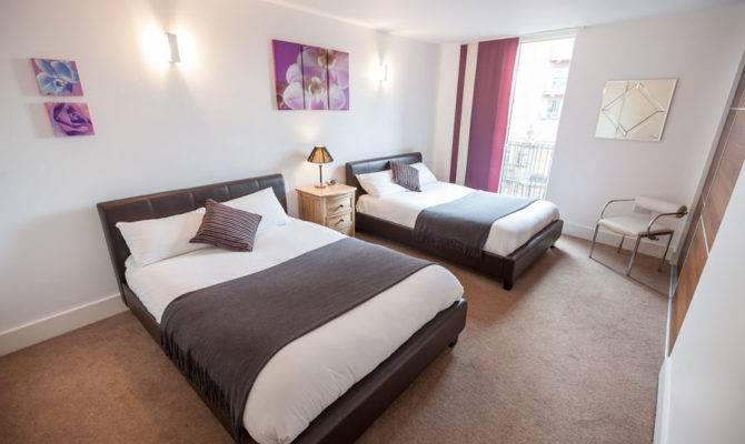 Bed Triple Apartments Kspace Serviced Sheffield