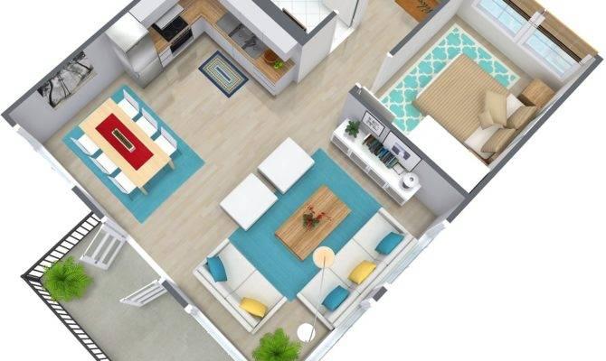 Bedroom Apartment Floor Plan Roomsketcher