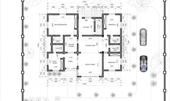 Bedroom Apartment House Plans Bungalow Floor