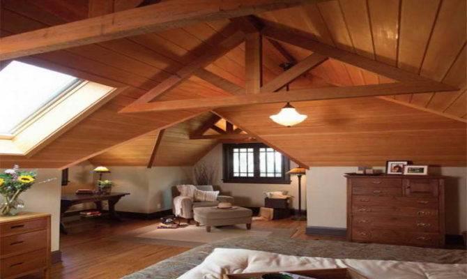 Bedroom Attic Master Remodeling Ideas