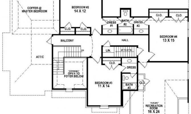 Bedroom Bath House Plans Home Planning Ideas