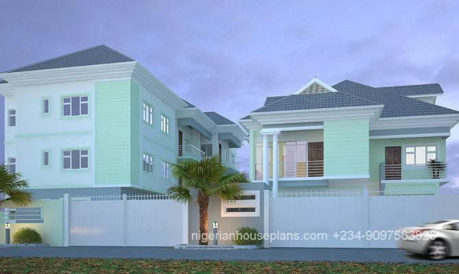 Bedroom Block Flats Ref Nigerianhouseplans