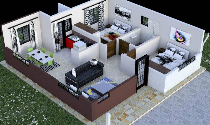 Bedroom Bungalow Designs Kenya Savae