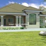 Bedroom Bungalow House Plan Nigeria Ghana