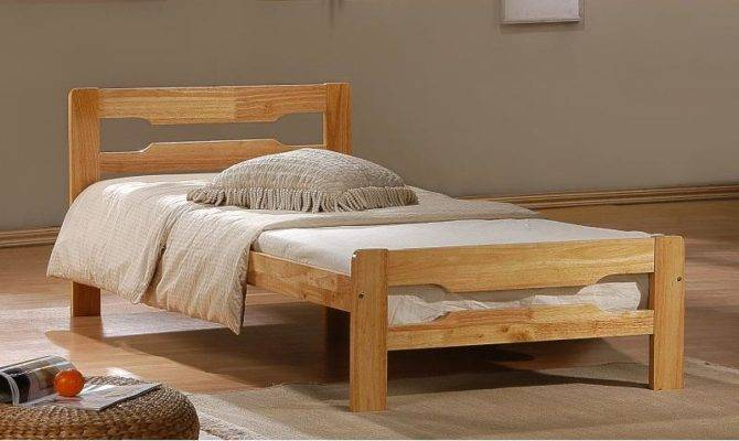 Bedroom Designs Single Bed Wood Floor