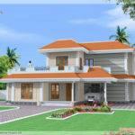 Bedroom Double Storey India House Kerala Home Design