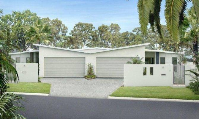 Bedroom Duplex Double Garage Kit Home Construction Plans Sale
