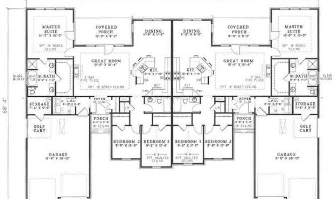 Bedroom Duplex Floor Plans House Home