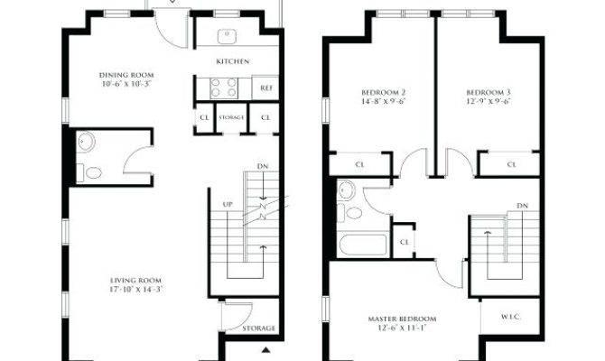 Bedroom Duplex Floor Plans Indiepedia