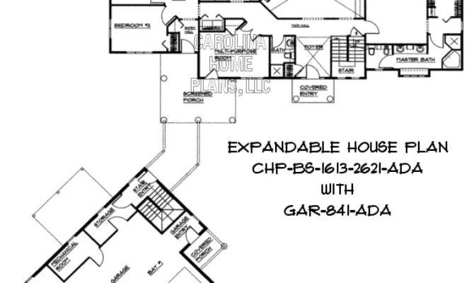 Bedroom Expandable House Plans Home Design Style