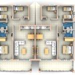 Bedroom Flat Floor Plan Apartment