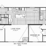 Bedroom Floor Plans Colorful Single Story Open