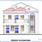 Bedroom Home Plan Elevation Kerala House Design Idea