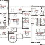 Bedroom House Floor Plans Sqaure Feet