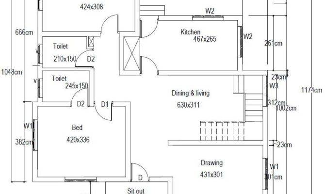 Bedroom House Plans Cents Savae