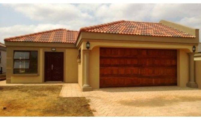 Bedroom House Plans Double Garage South Africa
