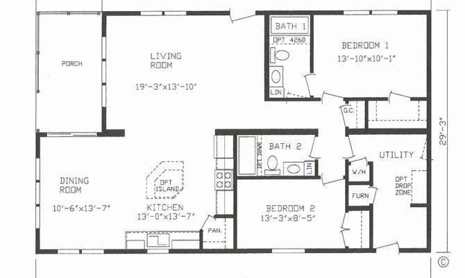 Bedroom House Plans Open Floor Plan Digitalstudiosweb