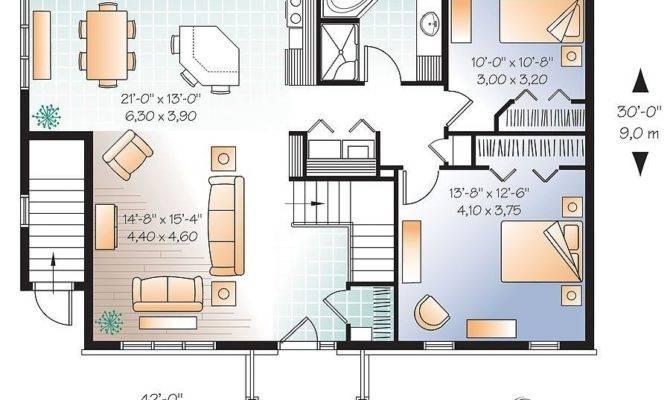 Bedroom House Plans Walkout Basement Lovely