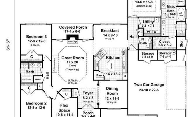 Bedroom House Plans Walkout Basement Luxury Ranch