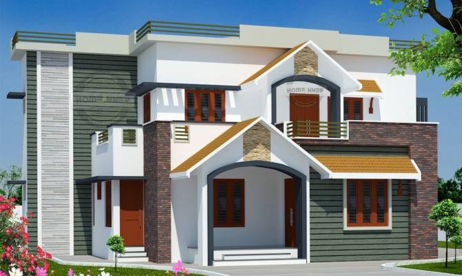 Bedroom Indian House Design Front