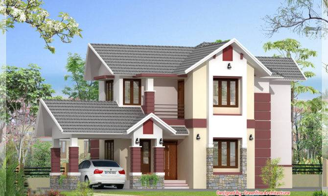 Bedroom Kerala House Plans Elegant Design