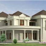 Bedroom Luxurious Bungalow Floor Plan Kerala Home