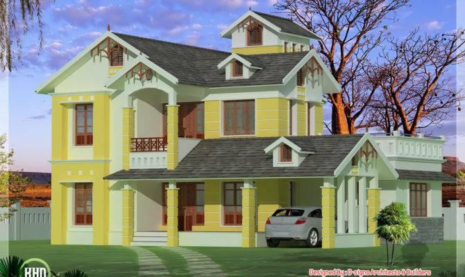 Bedroom Luxurious Small Villa Kerala Home Design Floor Plans